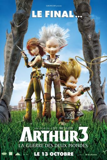 Arthur 3: Războiul celor două lumi