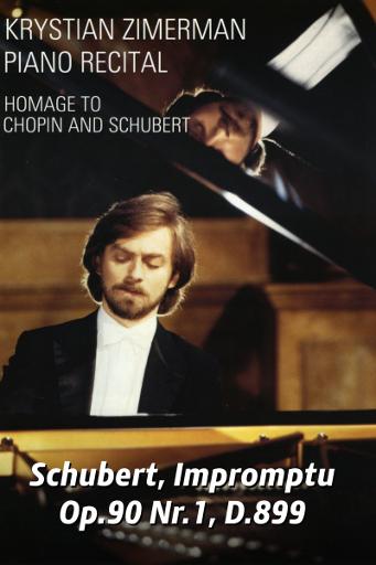 Schubert, Impromptu nr. 1 / Schubert, Impromptu Op.90 Nr.1, D.899 (2000)