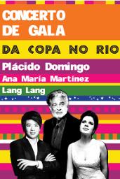 Concert de gală: Domingo şi Lang Lang în Rio de Janeiro