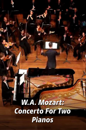 W.A. Mozart: Concerto For Two Pianos