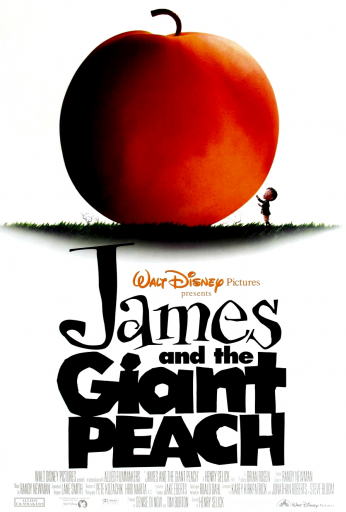 James și piersica uriașă