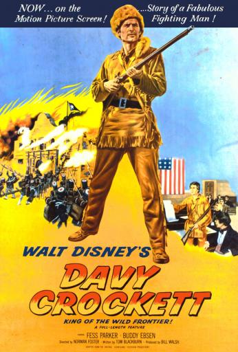 Davy Crockett în Vestul Sălbatic